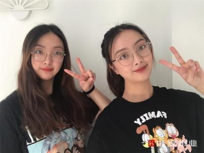 高颜值双胞胎姐妹花:双双考入淮工计算机专业,毕业又去同一家公司上班