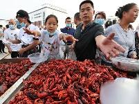 七师129团·盱眙龙虾美食节开幕