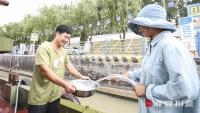 免费智能供水桩 解决船员用水难