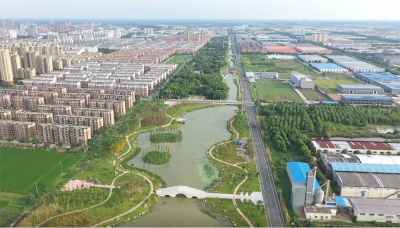 【新时代 新作为 新篇章】 江苏金湖:绿色小康路 水美湖城入画来