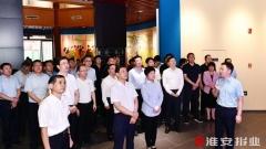 """蔡丽新向临沂市党政代表团推介淮安""""四张名片"""""""