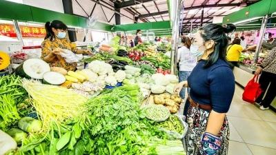 """【感受创建文明 乐享美好生活】""""升级版""""农贸市场让买菜成享受"""