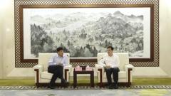 市长陈之常会见上海国际港务集团总裁严俊