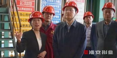 推动淮钢特钢发展壮大!市长陈之常赴沙钢调研