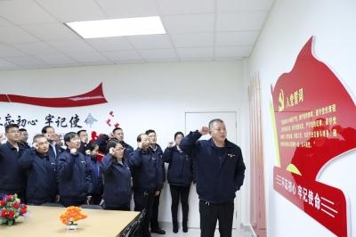 【大国小鲜@基层之治】江苏淮安工业园区:擎党建红色之旗  聚绿色发展之力