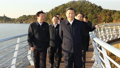 习近平在江苏考察时强调 贯彻新发展理念构建新发展格局 推动经济社会高质量发展可持续发展