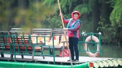 """【新时代 新作为 新篇章】江苏金湖:渔民告别""""水上漂""""开启幸福新生活"""
