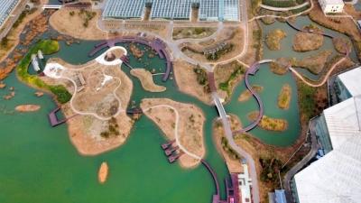 从空中看金湖—中国晚报摄影学会倾情推出