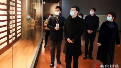今天,市长陈之常调研文化体育事业发展及疫情常态化防控工作!