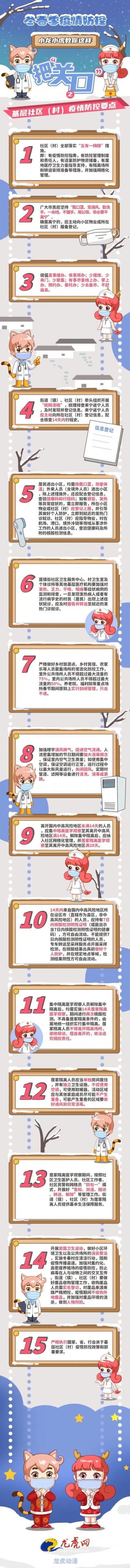 """長圖漫畫:冬春季疫情防控該如何把""""關口""""?15個重點來了"""