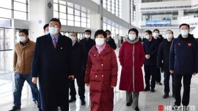 市委书记蔡丽新检查部署疫情防控工作