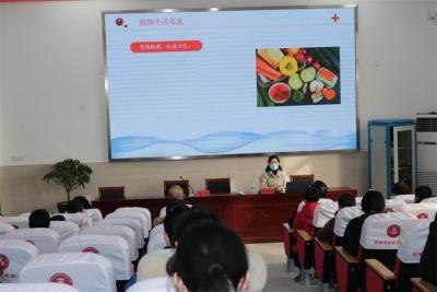 盱眙县盱城街道:防疫宣传进校园 让学生假期更安全