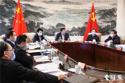 江苏省委常委会会议:以实干业绩庆祝中国共产党成立100周年