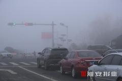 大霧天氣,務必謹慎駕駛!