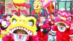 【我们的节日·元宵节】幼儿园里逛庙会