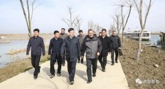 今天,市长陈之常用一天时间专题调研推进白马湖规划发展工作!