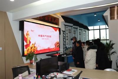 """淮安穿运村:虚拟党建馆让党员冬训学习""""活""""起来、""""火""""起来"""
