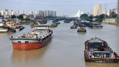 淮安:推进绿色现代航运 大运河焕发新光彩