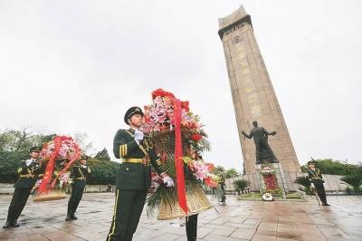 清明时节江苏各地采取多种形式缅怀革命先烈:把英雄精神内化于心 续写红色荣光