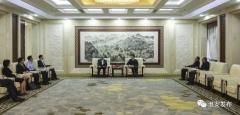 市委副书记、市长陈之常会见国家开发银行江苏省分行党委书记、行长王卫东
