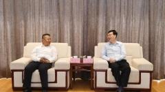 市委書記陳之常會見中國青年企業家協會常務副會長許華平一行