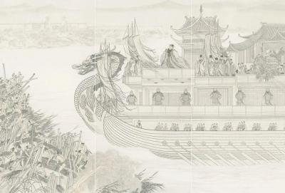 """一场大展,两幅巨轴,看尽大运河的""""前世今生"""""""