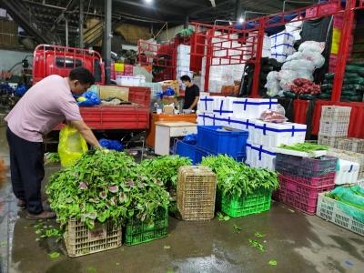 """扬州主城区30家农贸市场有序开放首日——按下""""重启键"""",筑牢""""防疫墙"""""""