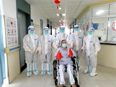 回家了!扬州首例康复患者出院