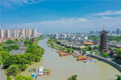 江苏淮安:美丽大运河流淌幸福之歌