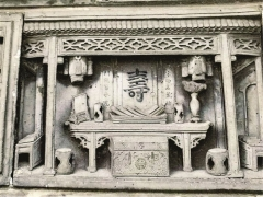 风格独特的淮安砖雕