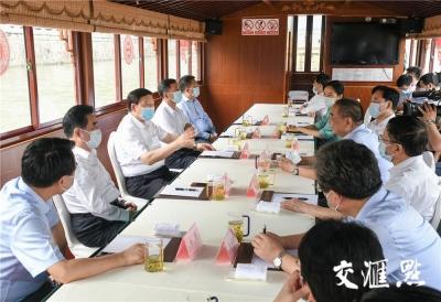 娄勤俭专题调研江南运河时强调 苏南要在大运河文化带建设中发挥示范引领作用