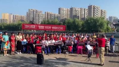 欢声合唱 祝福祖国